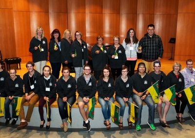 Team Sask Nationals 2016